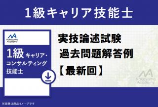 <img class='new_mark_img1' src='https://img.shop-pro.jp/img/new/icons11.gif' style='border:none;display:inline;margin:0px;padding:0px;width:auto;' />1級キャリア技能士 実技論述過去問解答例 最新回(第8回) 全ジャンル