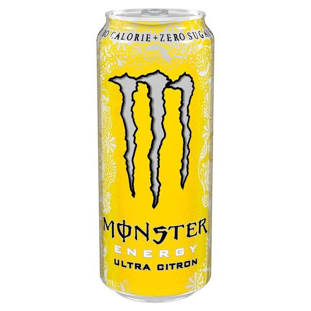 送料込】 Ultra Citron 500ml (エナジードリンク) - Monster Energy ...