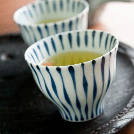 染付つれづれ十草煎茶
