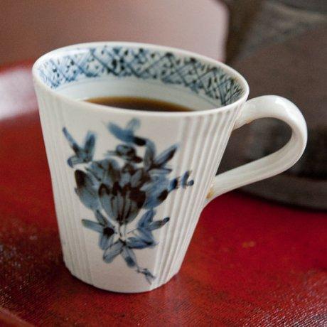 筒形しのぎマグカップ(6柄)