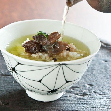 麻の葉飯碗(染付)