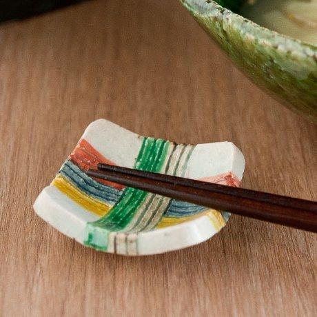 糸巻文箸置