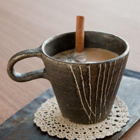 灰いっちんマグカップ