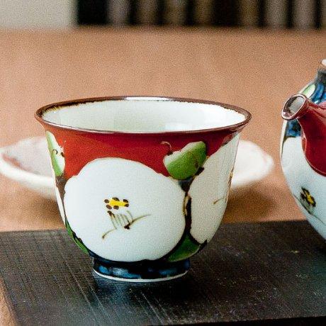 濃椿反煎茶碗