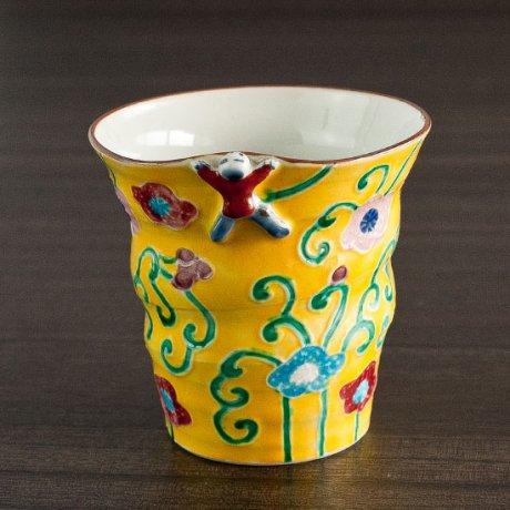 黄交趾フリーカップ