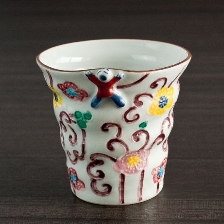 交趾フリーカップ(つる紫)