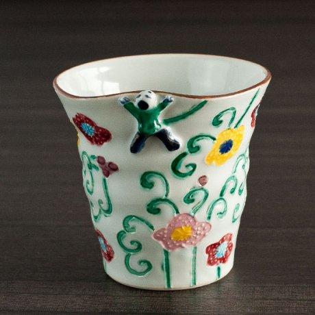交趾フリーカップ(つる緑)