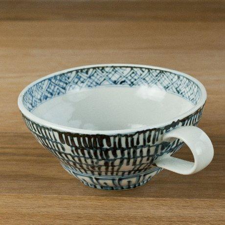 染付スープカップ