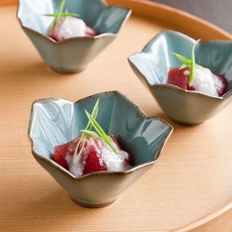 粉青瓷桔梗小鉢