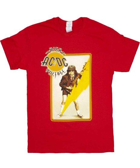 AC/DC バンドTシャツ HIGH VOLTAGE ANGUS