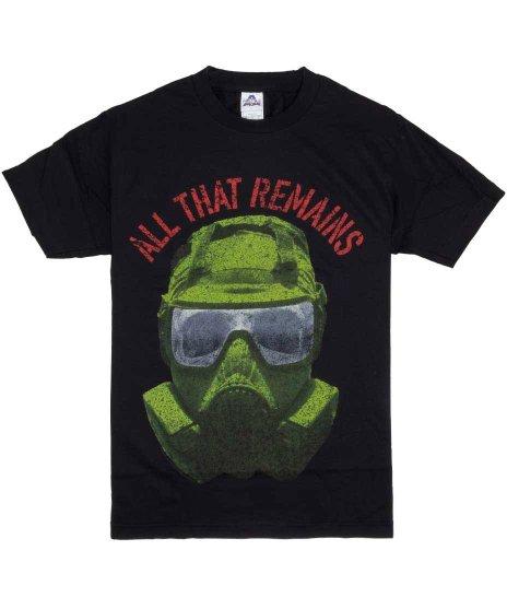 オール ザット リメインズ ( All That Remains ) Tシャツ Army Mask