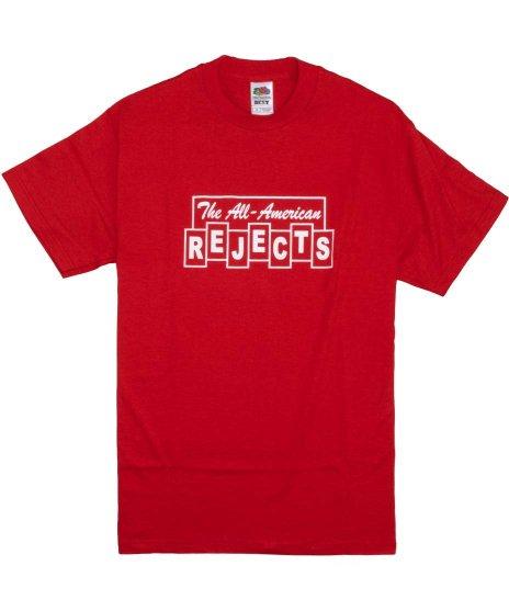 オール アメリカン リジェクト ( All American Rejects ) Tシャツ Blocks