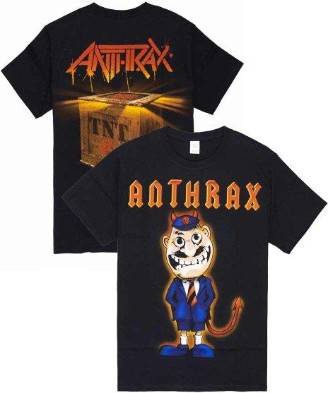 アンスラックス ( Anthrax ) Tシャツ ANTHEMS TNT