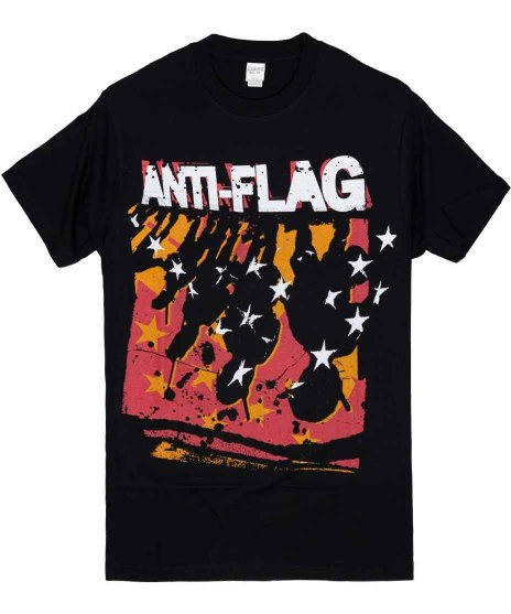 アンタイ フラッグ ( Anti-Flag ) Tシャツ Police Line