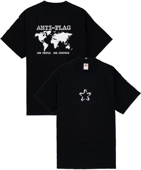 アンタイ フラッグ ( Anti-Flag ) Tシャツ One People