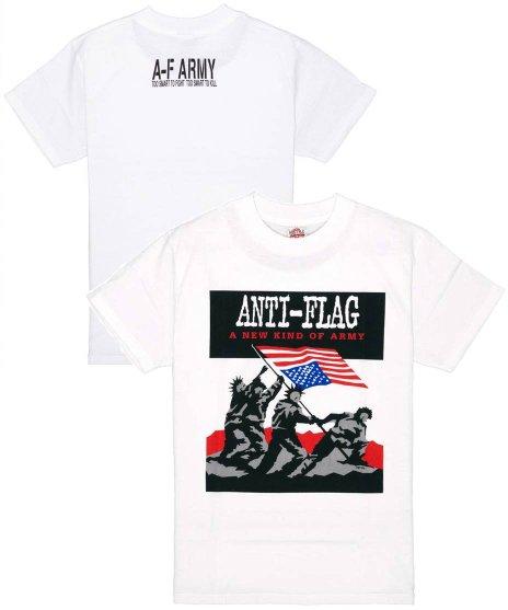 アンタイ フラッグ ( Anti-Flag ) Tシャツ A New Kind Of Army