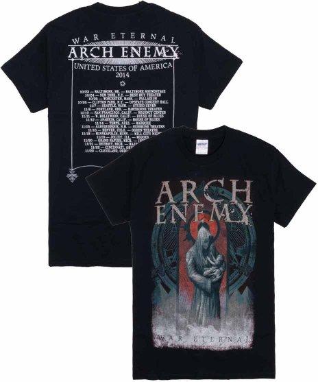 アーチ エネミー ( Arch Enemy ) Tシャツ2014 War Eternalツアー