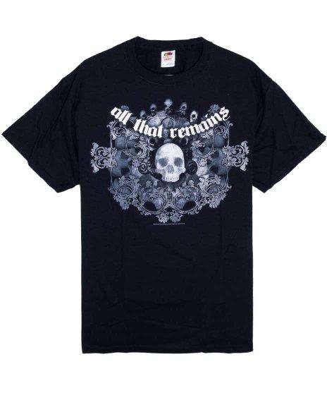 オール ザット リメインズ ( All That Remains ) Tシャツ Skull Wreath