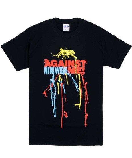 アゲインスト ミー ( Against Me! ) Tシャツ New Wave