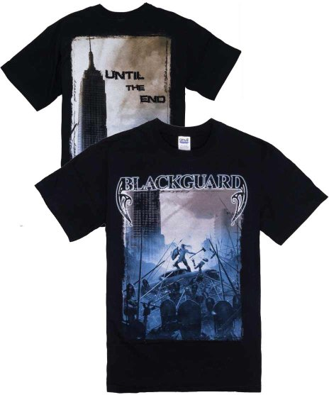 ブラックガード ( Blackguard ) Tシャツ Until The End
