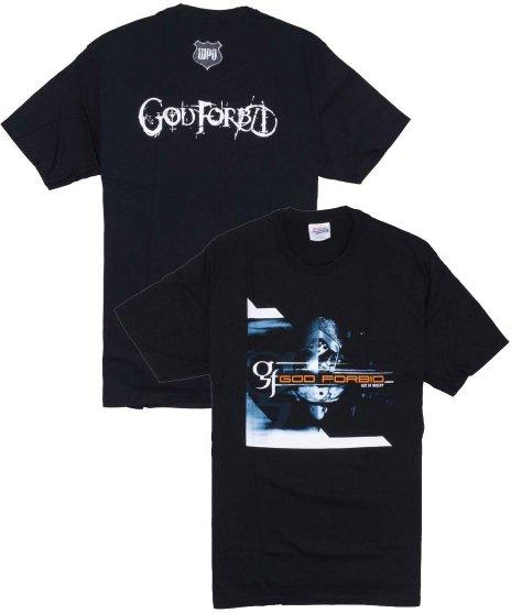 ゴッド フォービッド ( God Forbid ) Tシャツ Out Of Misery