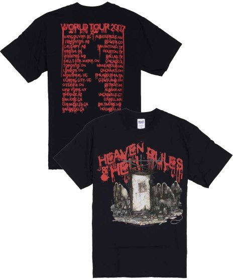 ヘブン アンド ヘル ( Heaven And Hell ) Tシャツ Heaven And Hell Rule