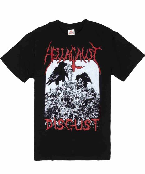 ヘルコースト ( Hellacaust ) Tシャツ Disgust