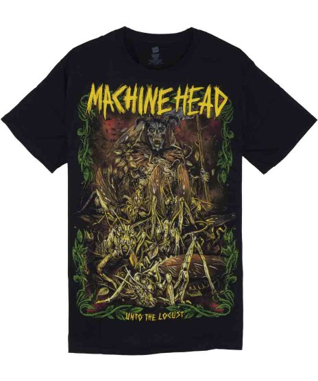 マシンヘッド ( Machinehead ) Tシャツ Unto The Locust