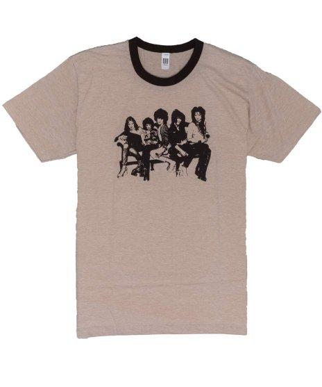 ニューヨーク ドールズ ( New York Dolls ) Tシャツ Heather Brown Ringer