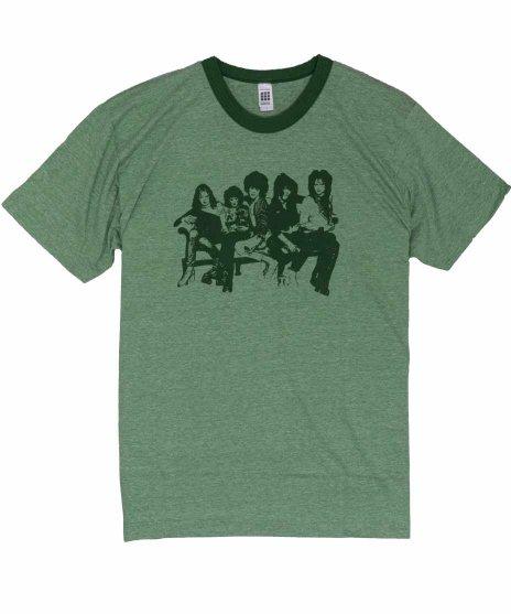 ニューヨーク ドールズ ( New York Dolls ) Tシャツ Heather Green Ringer