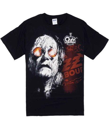 オジー オズボーン ( Ozzy Ozbourne ) Tシャツ Black Rain