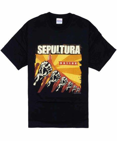 セパルトゥラ ( Sepultura ) Tシャツ Sepulnation