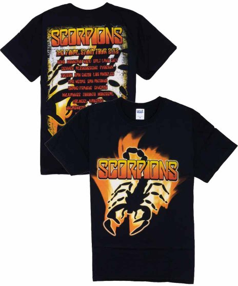 スコーピオンズ ( Scorpions ) Tシャツ Flame