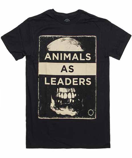 アニマル アズ リーダーズ ( Animals As Leaders ) Tシャツ Skull