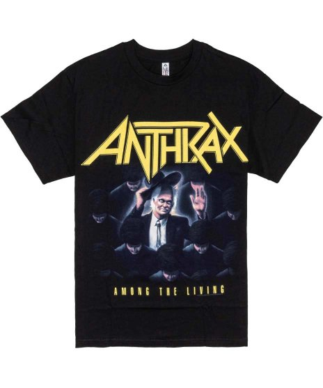 Anthrax Tシャツ Among The Living