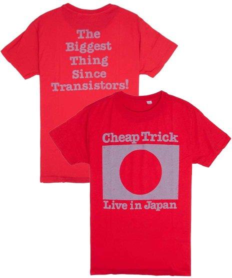 チープ トリック ( Cheap Trick ) Tシャツ Live In Japan