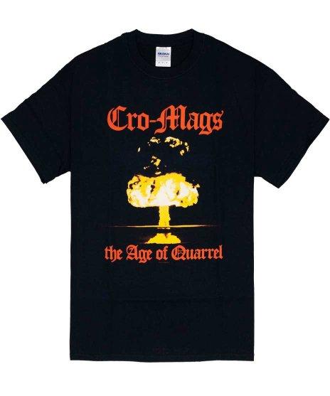 クロ マグス ( Cro-Mags ) Tシャツ Age Of Quarrel