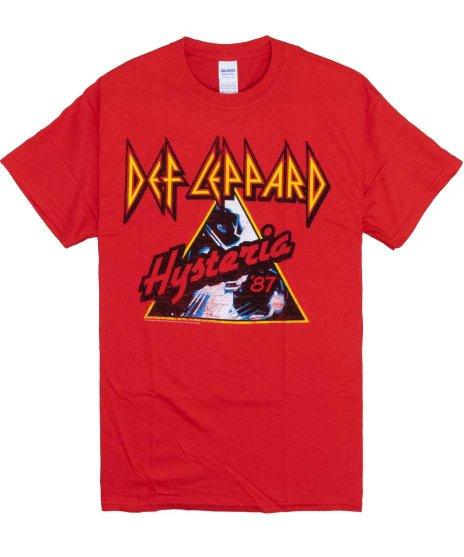 デフ レパード ( Def Leppard ) Tシャツ Hysteria 87
