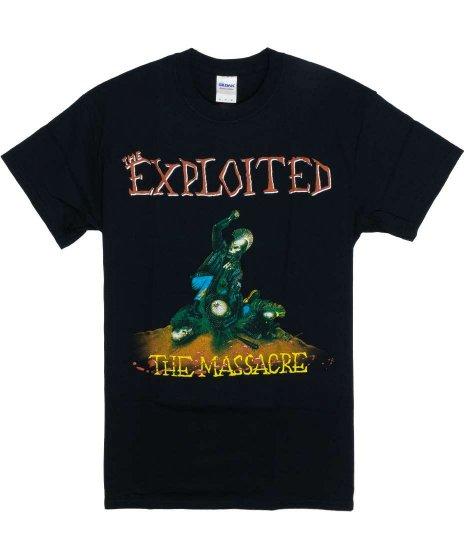 The Exploited ( エクスプロイテッド ) Tシャツ The Massacre