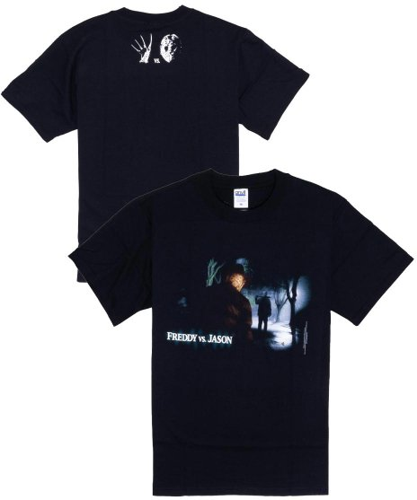 フレディー対ジェイソン ( Freddy Vs Jason ) 映画 Tシャツ Jason Waiting