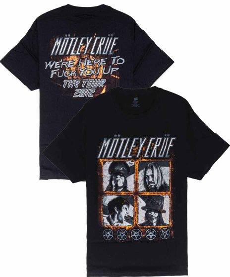 モトリー クルー ( Motley Crue ) Tシャツ Four Square