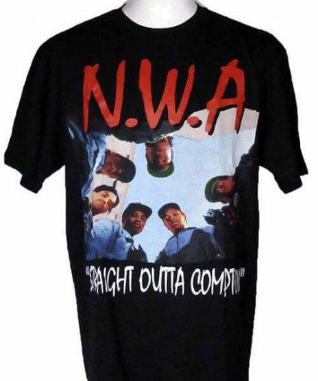 NWA Tシャツ ストレイト・アウタ・コンプトン
