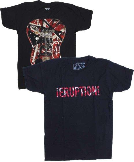 エディー ヴァン ヘレン ( Van Halen ) Tシャツ Eruption