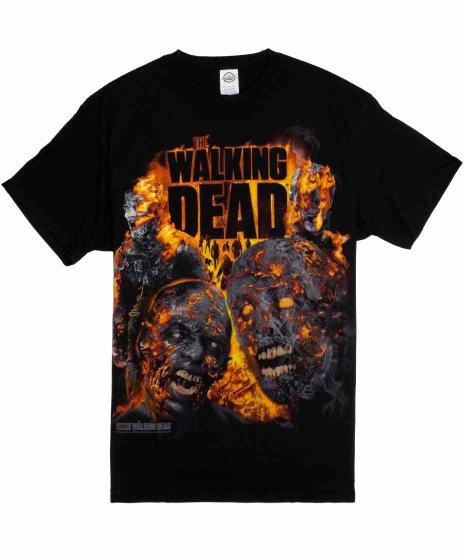 ウォーキング デッド ( Walking Dead ) TVドラマTシャツ Fire Roasted
