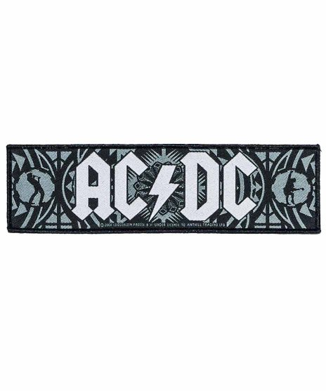 AC/DC バンドワッペン Brian&Angus Cog Superstrip