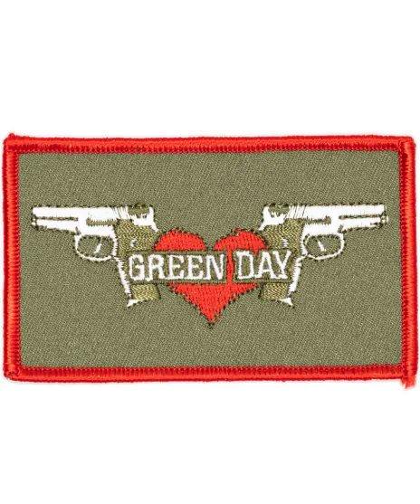 Green Day バンドワッペン 2Guns