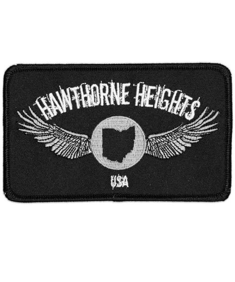 Hawthorne Heights バンドワッペン Embroidered Logo