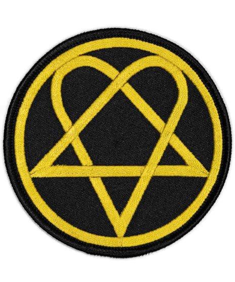 HIM バンドワッペン Heartagram Circle