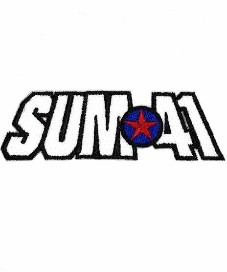 Sum41 バンドワッペン ロゴ