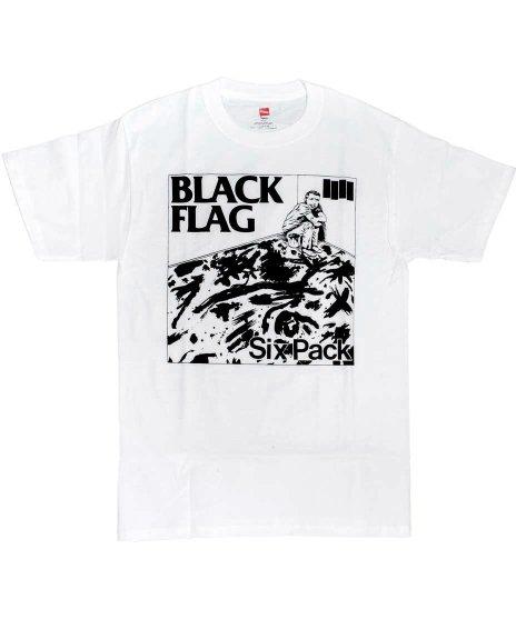 Black Flag (ブラック・フラッグ) Tシャツ Six Pack